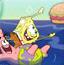 海绵宝宝跳肚皮吃汉堡