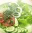 做蔬菜水果沙拉