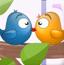 小鸟玩亲亲