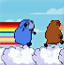 狂奔的彩虹牛