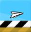 翱翔的纸飞机