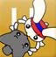 萌兔相扑手