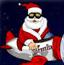 圣诞老人飞机