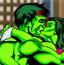 绿巨人接吻