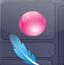 羽毛保护气球