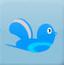 小鸟吃蚕蛹