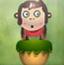 弹跳的猴子
