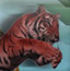 凶猛的老虎