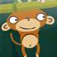 小猴下竹竿
