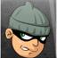 小偷躲警察