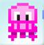 粉色小水母