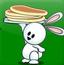 小兔子接烧饼