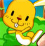 指尖上的兔子