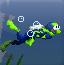 潜水员水下探宝