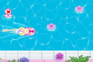 芭比学游泳中文版