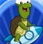 送乌龟一程
