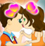 小夫妻接吻