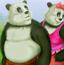 放屁熊猫约会