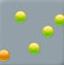 收集彩色球