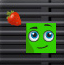 绿方块吃水果