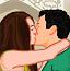 泰姬陵情侣接吻