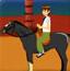 少年骇客骑马