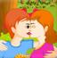 小公园情侣接吻