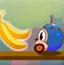 电狗宝贝吃香蕉