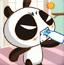 熊猫喝牛奶