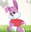 小粉兔接宝石