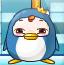一只胖企鹅