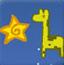 长颈鹿摘星星