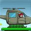 马里奥开直升机