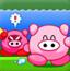 锤飞粉色小猪