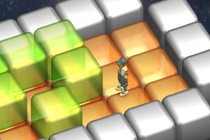 3D堆方块