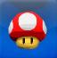 马里奥射蘑菇