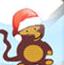 小猴子射气球圣诞版