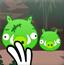 愤怒的小鸟射击小猪