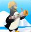 火球解救冰冻企鹅