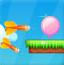美丽五彩气球
