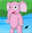 大象宝宝射气球