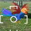 打落空中的公鸡