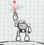 机器人纸上防御
