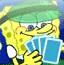 海绵宝宝玩纸牌
