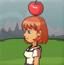 美女射苹果2