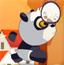 熊猫打鸡蛋排球
