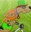 史酷比骑自行车