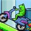 小青蛙骑摩托