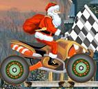 圣诞老人摩托驾驶