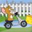 杰瑞骑摩托